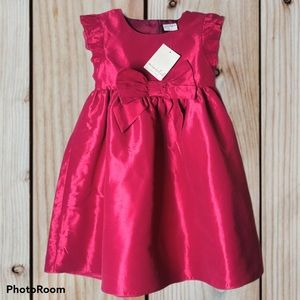 Minnie and Me Pink Ruffle short sleeves with bow